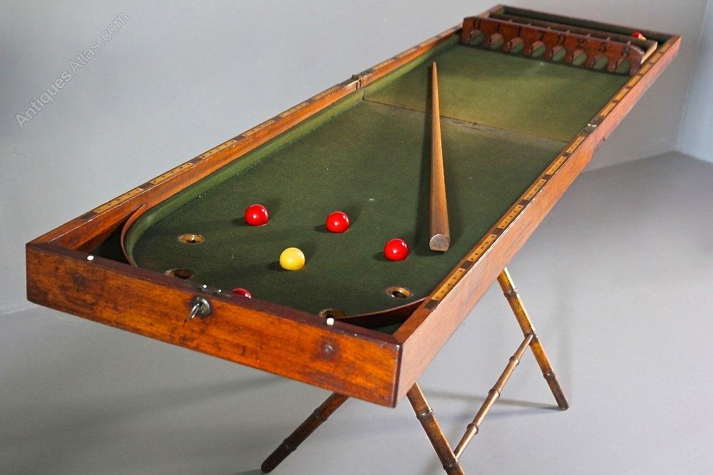 Antiques Atlas Victorian Folding Bagatelle Table Game U68