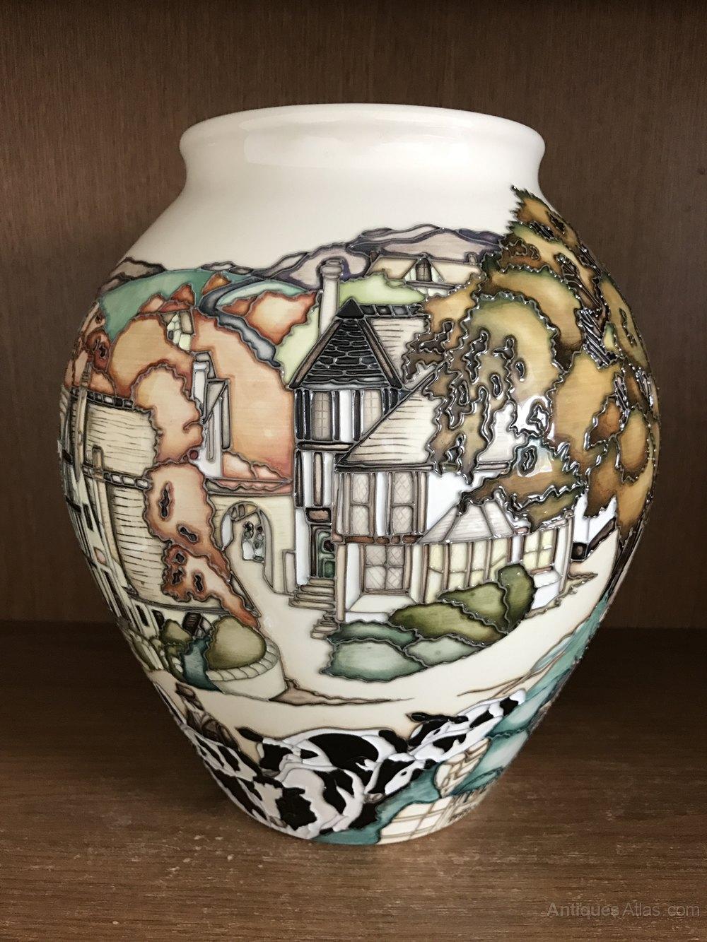 Antiques Atlas Moorcroft Off To Market Vase Limited
