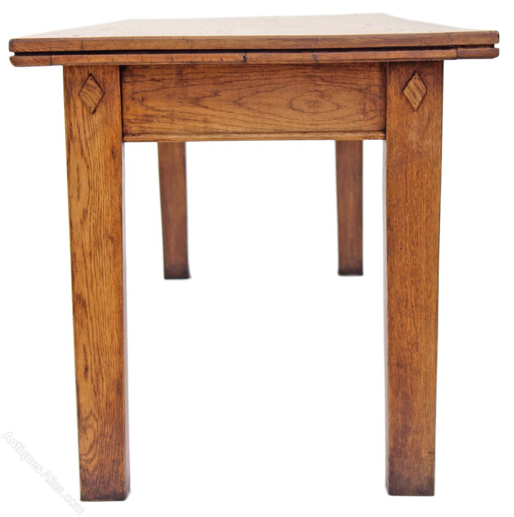 1920s Oak Ash Refectory Dining Table 8 Foot Antiques Atlas