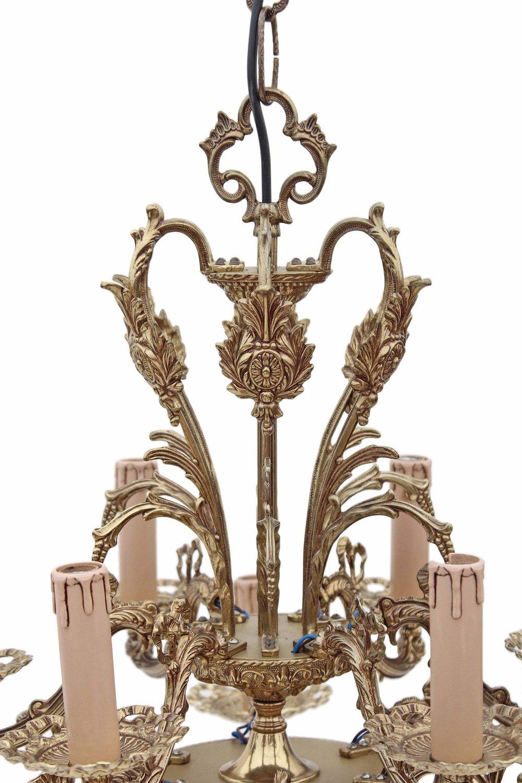 Antiques Atlas Birdcage Bow 12 Lamp Ormolu Brass Bronze