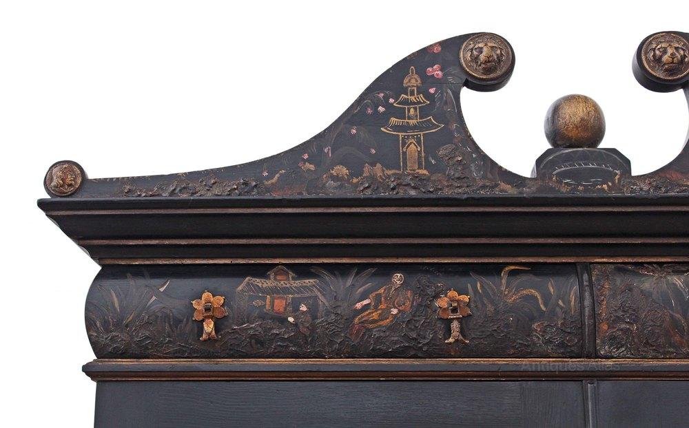 chinoiserie dresser abbatant secretaire bureau des antiques atlas. Black Bedroom Furniture Sets. Home Design Ideas