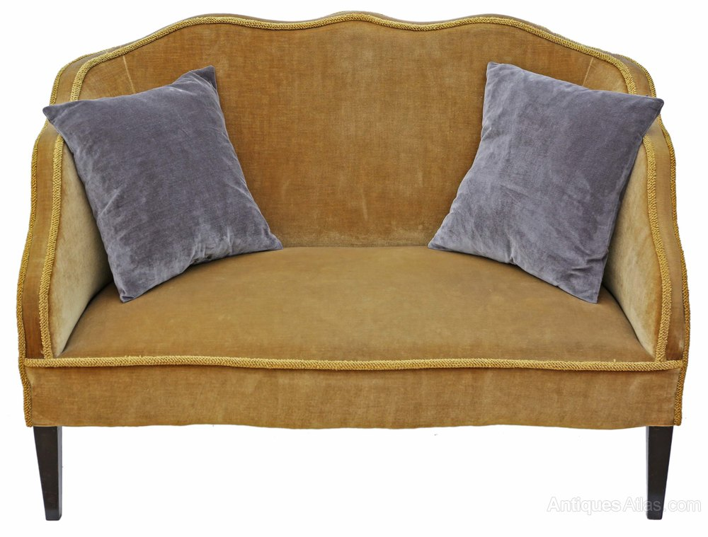 Edwardian Small Sofa Chaise Longue Antiques Atlas