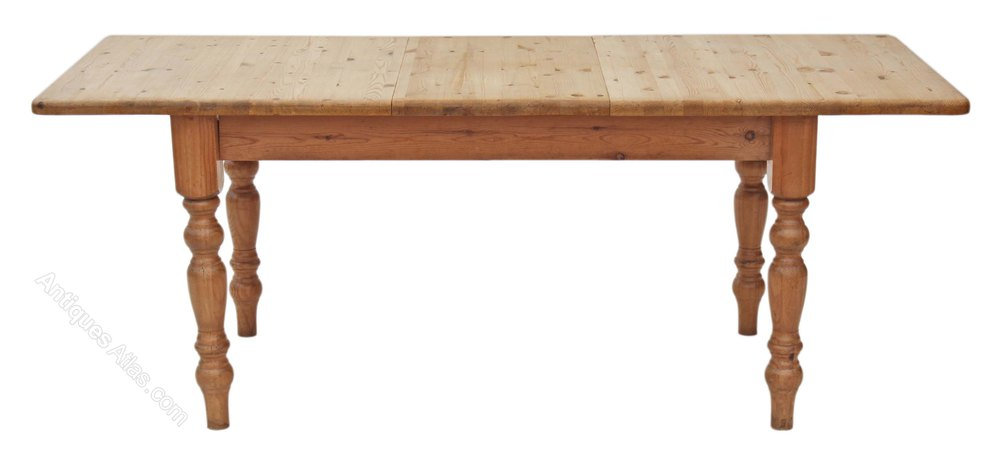 Extending Pine Kitchen Dining Antiques Atlas Table Scrub