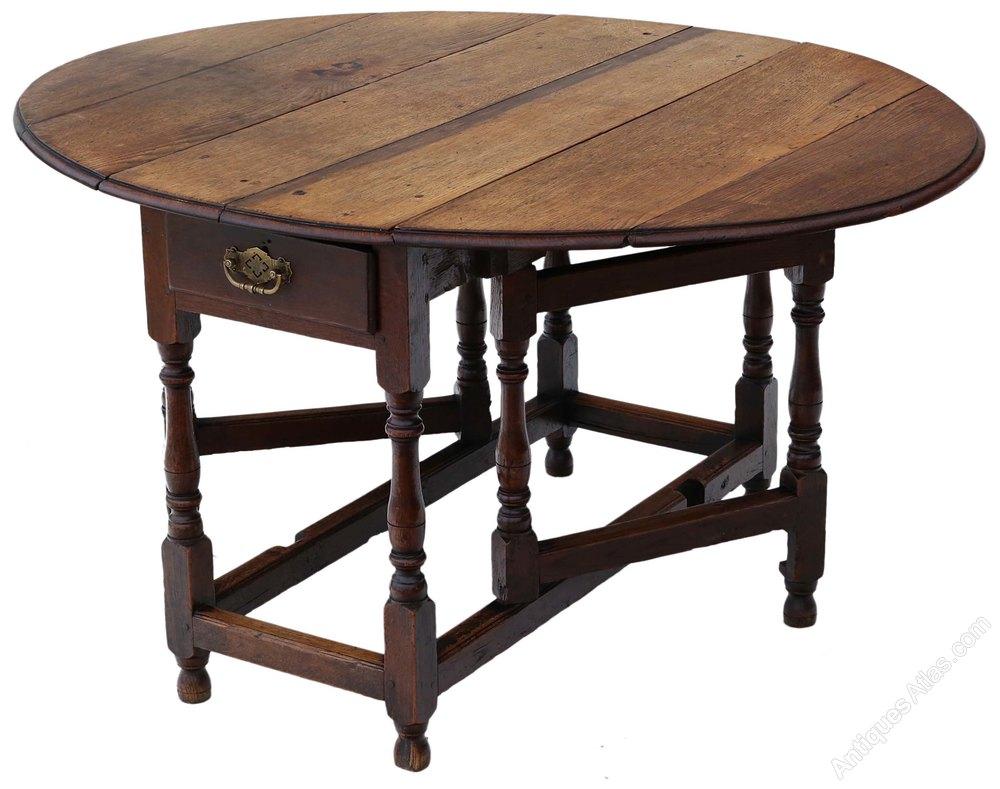 Georgian Oak Gateleg Drop Leaf Dining Table Antiques Atlas : Georgianoakgatelegdropleafas462a1403z from www.antiques-atlas.com size 1000 x 789 jpeg 101kB