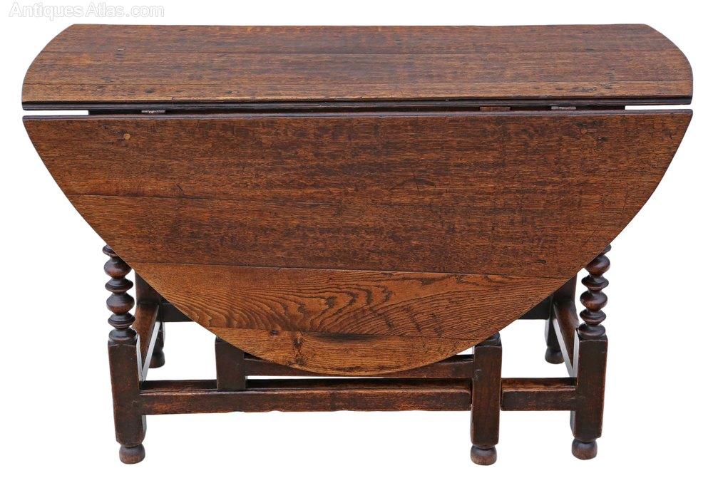 Georgian oak gateleg drop leaf dining table 5 39 x 4 for Antique drop leaf dining table