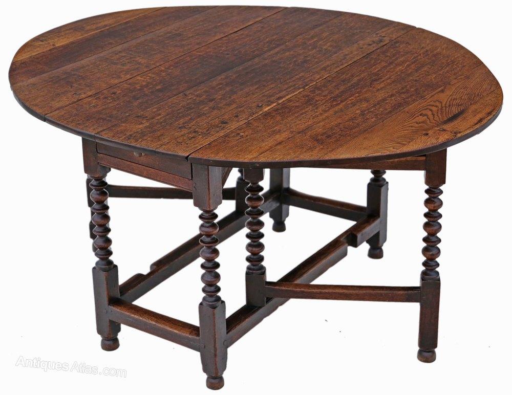 Georgian Oak Gateleg Drop Leaf Dining Table 5 X 4  : Georgianoakgatelegdropleafas462a1515z from www.antiques-atlas.com size 1000 x 772 jpeg 112kB