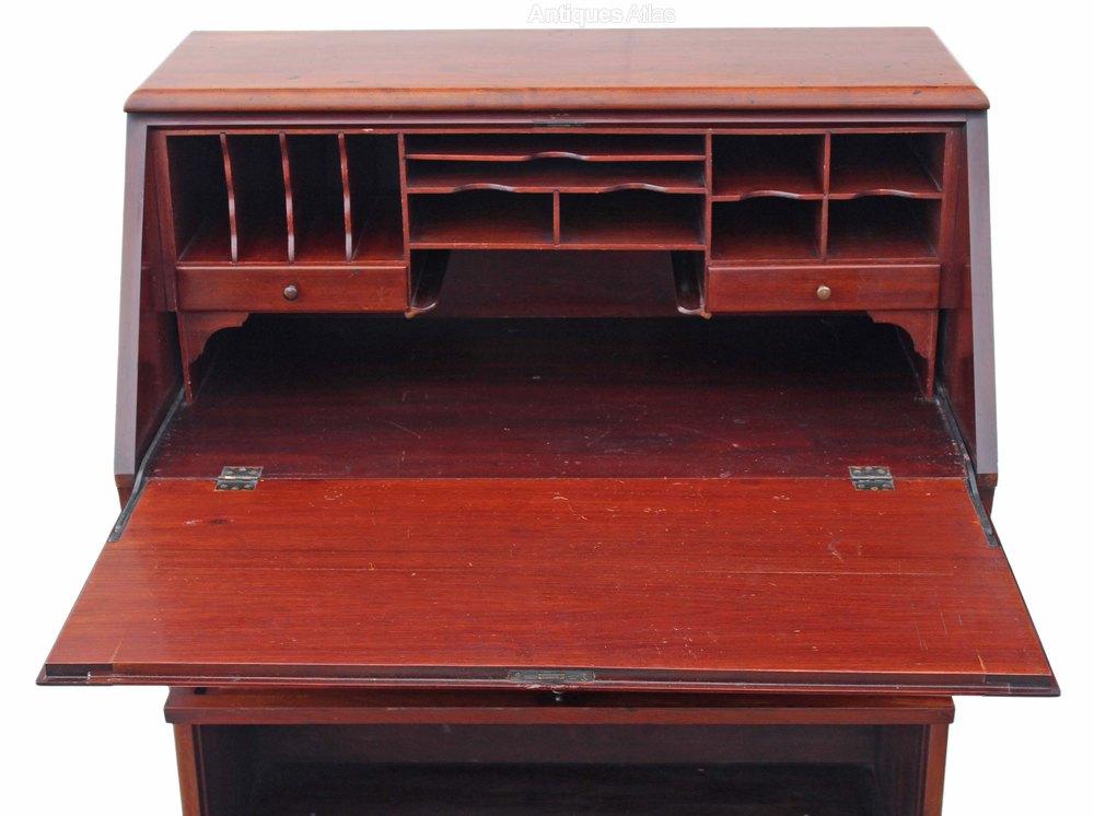 mahogany globe wernicke bureau bookcase desk table. Black Bedroom Furniture Sets. Home Design Ideas