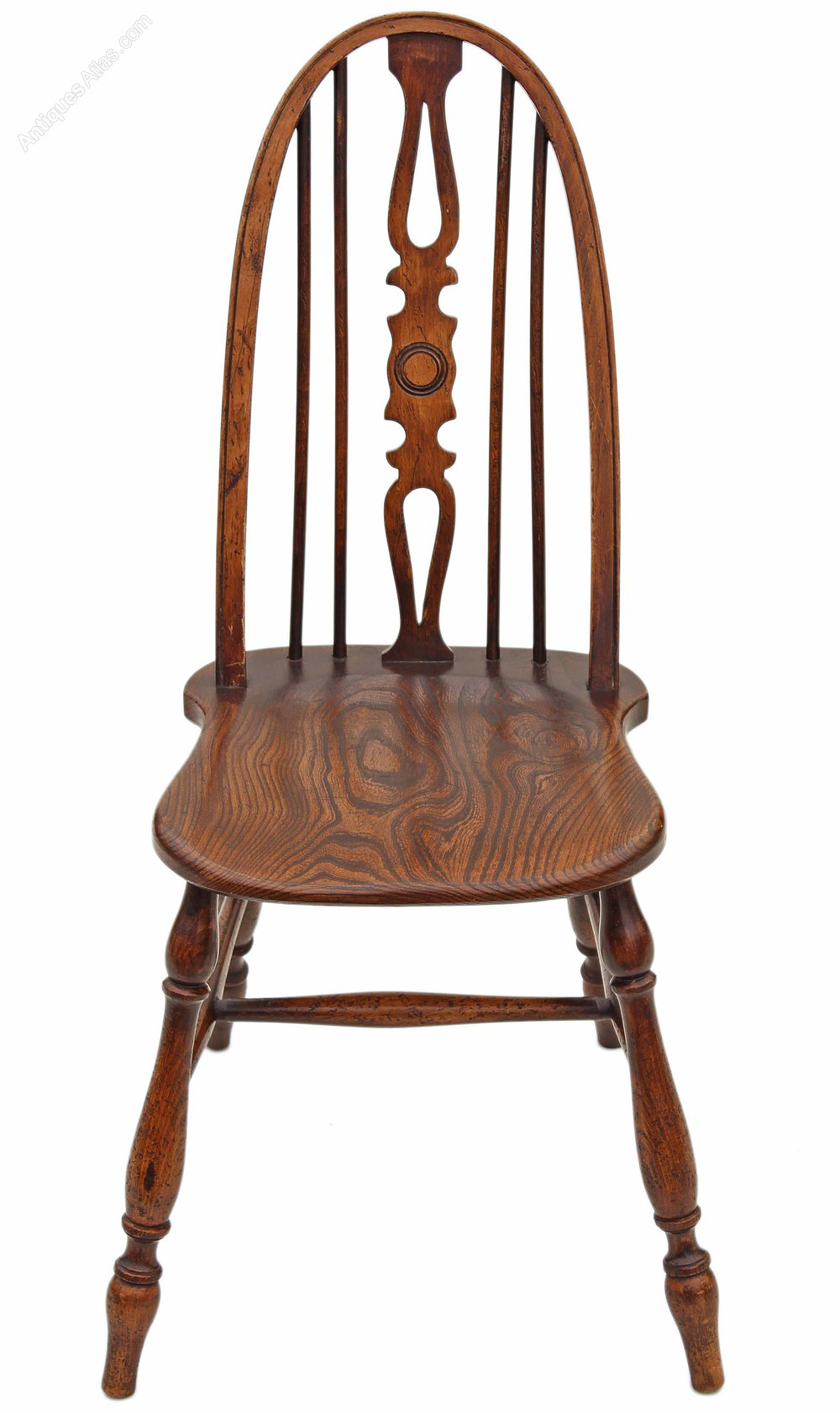 Pair Of Windsor Ash Elm Beech Dining Chairs Antiques Atlas