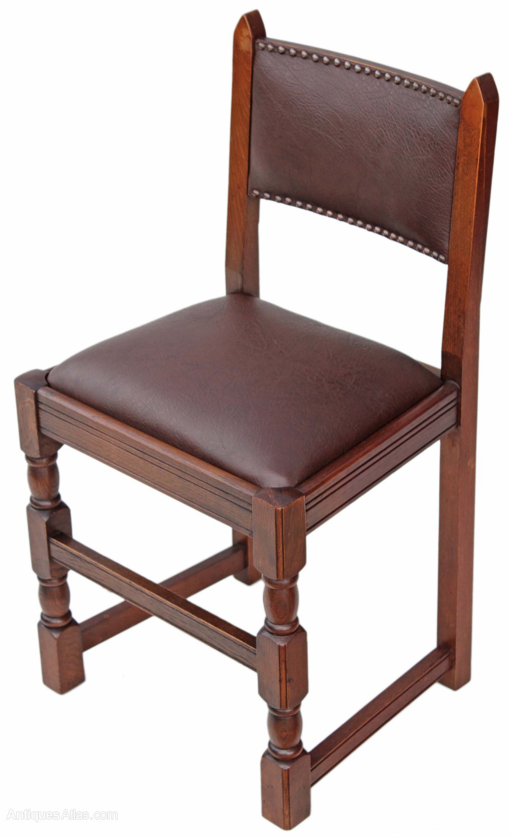 antiques atlas set of 4 oak gothic revival dining chairs. Black Bedroom Furniture Sets. Home Design Ideas