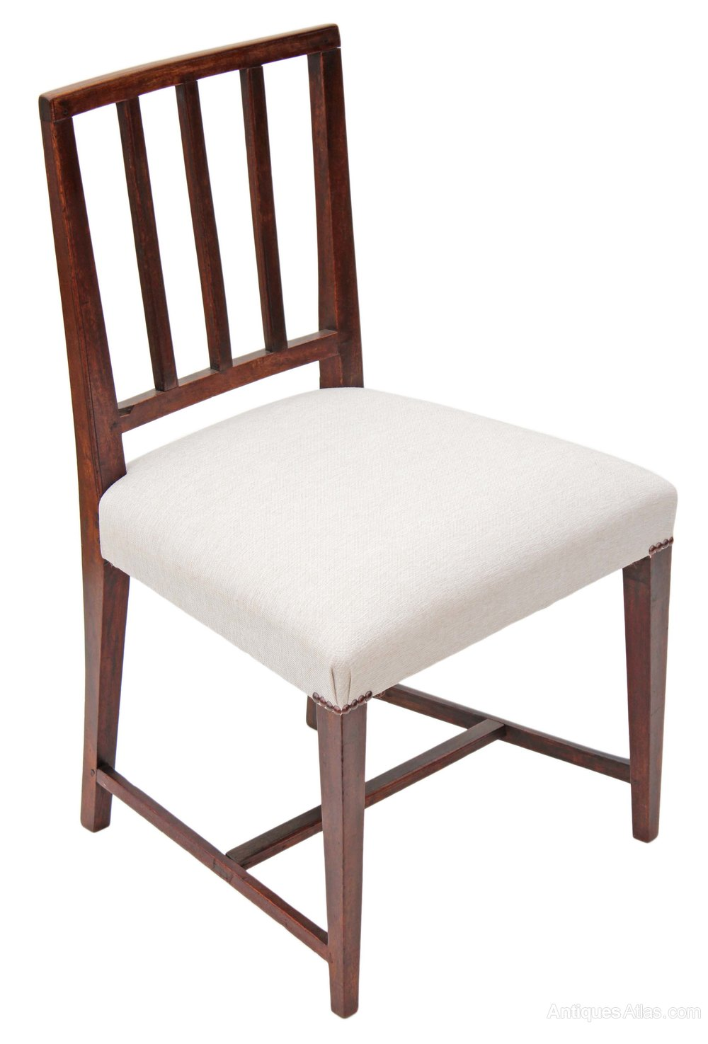 Set Of 6 Georgian Dining Chairs Mahogany Antiques Atlas : Setof6Georgiandiningchairas462a1128z 4 from antiques-atlas.com size 1000 x 1475 jpeg 112kB