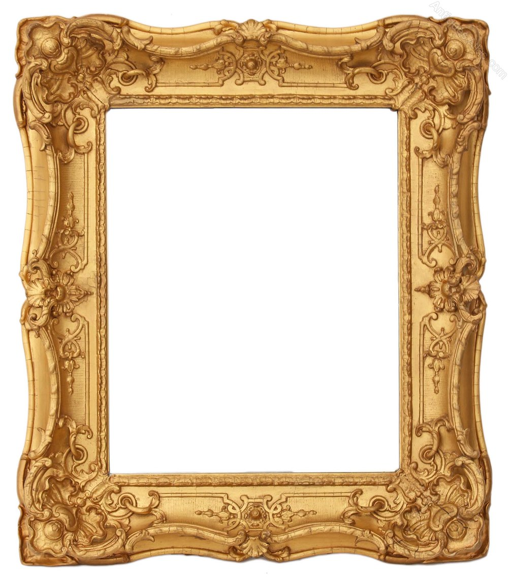 Antiques atlas victorian gilt framed wall mirror overmantle for Victorian mirror