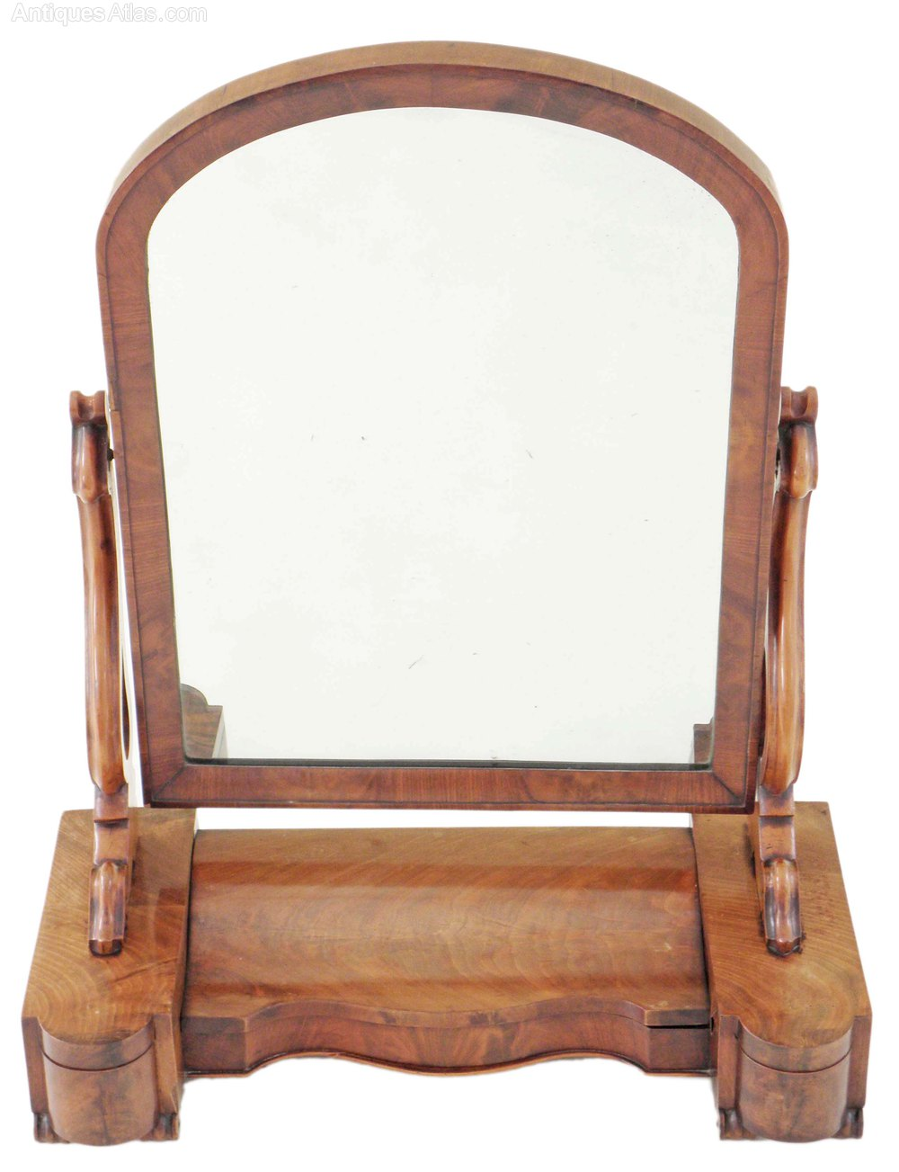 Antiques atlas victorian mahogany bedroom swing mirror for Victorian mirror