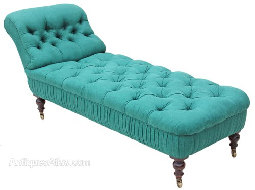 Victorian mahogany chaise longue sofa settee bed for Chaise longue for sale uk