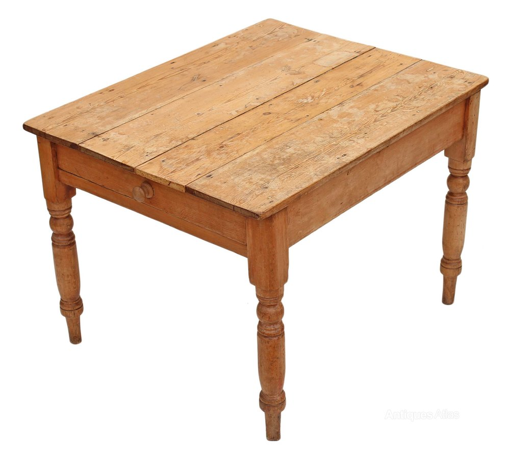 Victorian scrub top pine kitchen dining table antiques atlas - Antiques dining tables ...