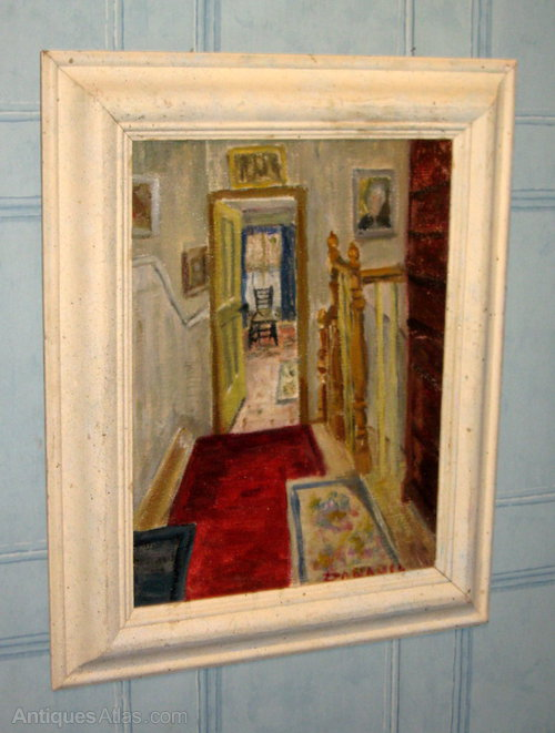 Antiques Atlas Impressionist Interior Oil Painting