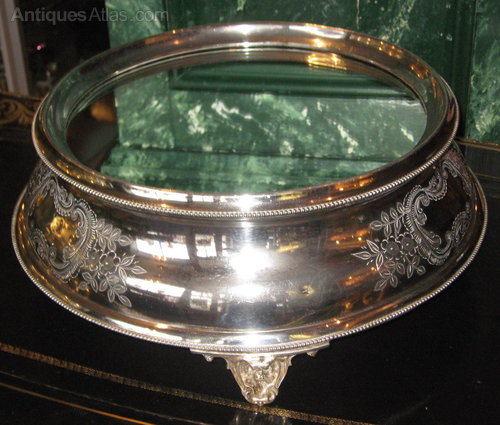 Antique Silver Cake Stand Uk