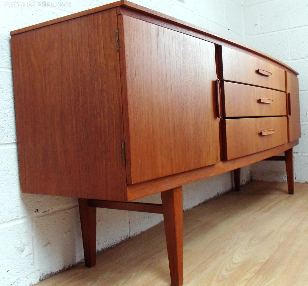 antiques atlas retro teak sideboard by beautility 1960s. Black Bedroom Furniture Sets. Home Design Ideas
