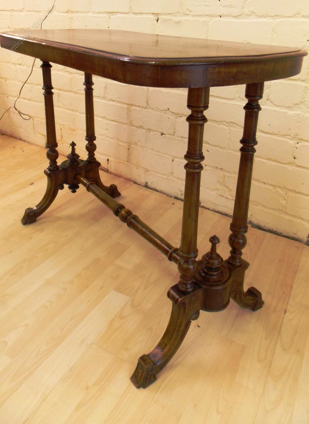 Victorian Foyer Table : Victorian mahogany hall console table antiques atlas