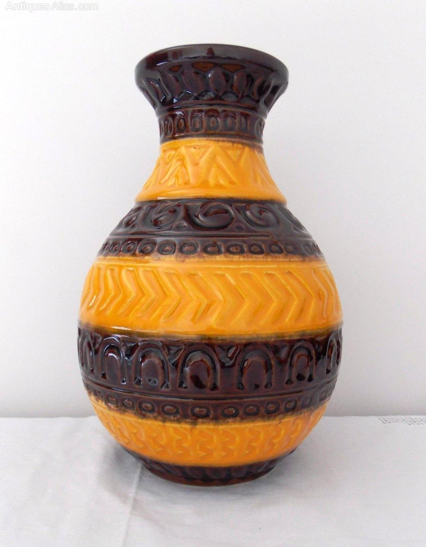 Antiques Atlas West German Pottery Bay Keramik Vase 92 30