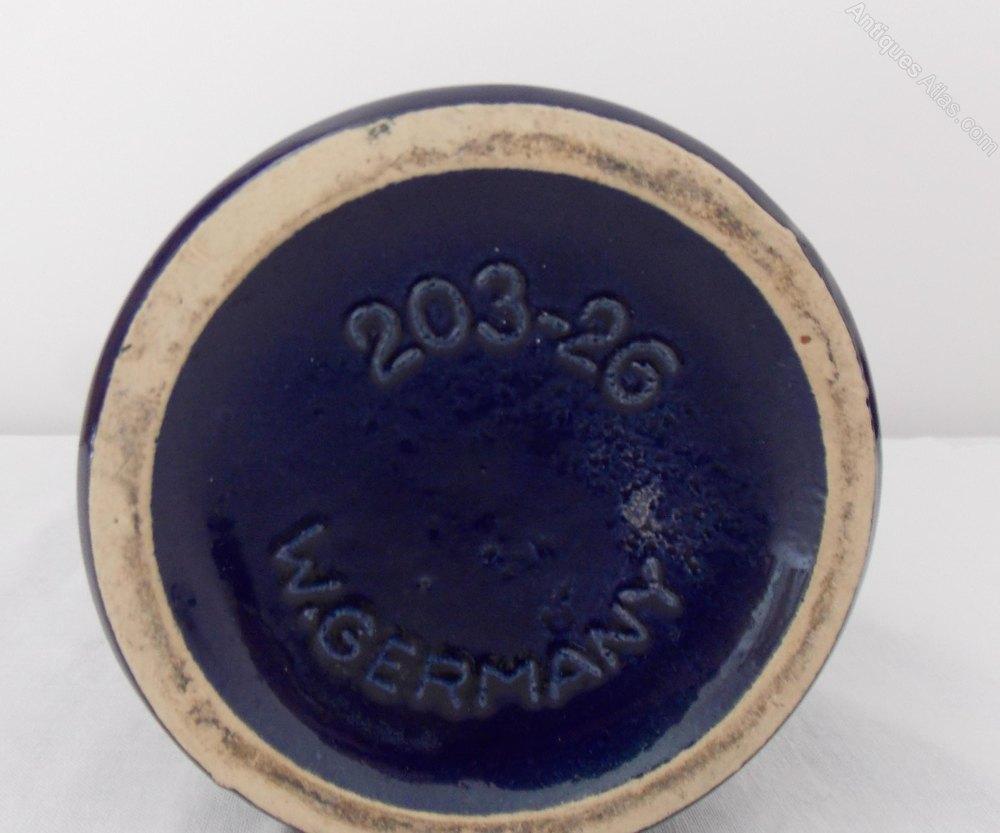 Antiques Atlas - West German Pottery - Scheurich Vase 203-26