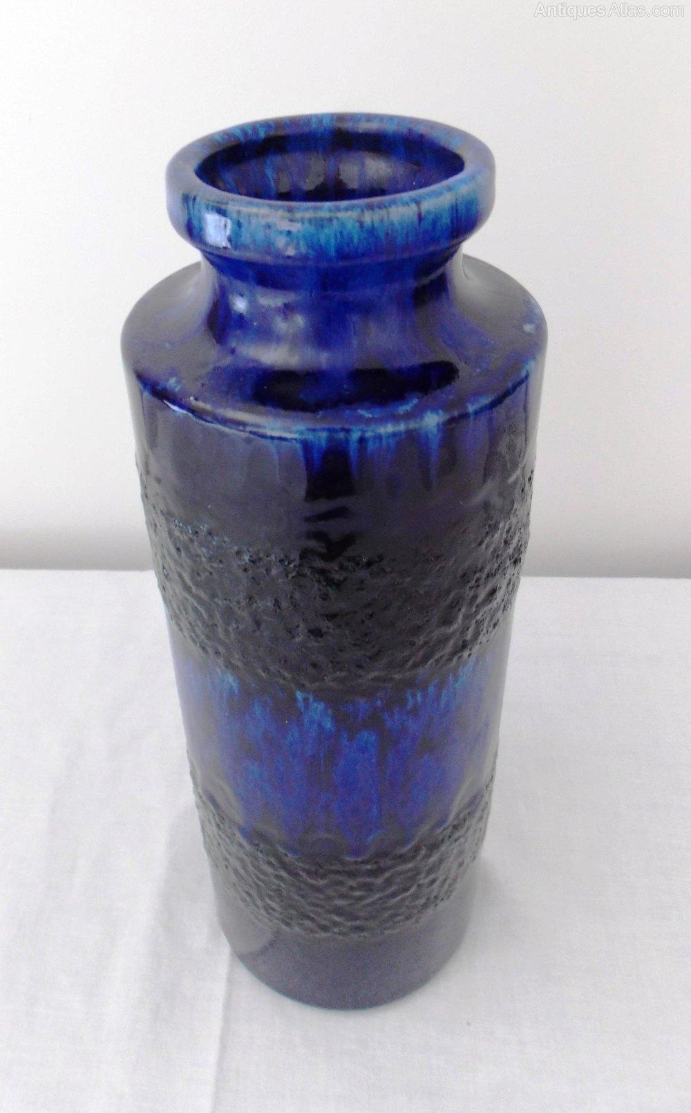 Antiques Atlas West German Pottery Scheurich Vase 203 26