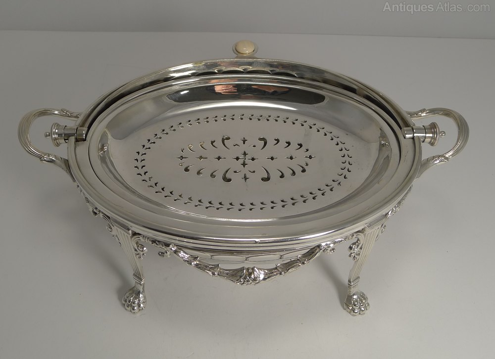 how to clean antique silver plate