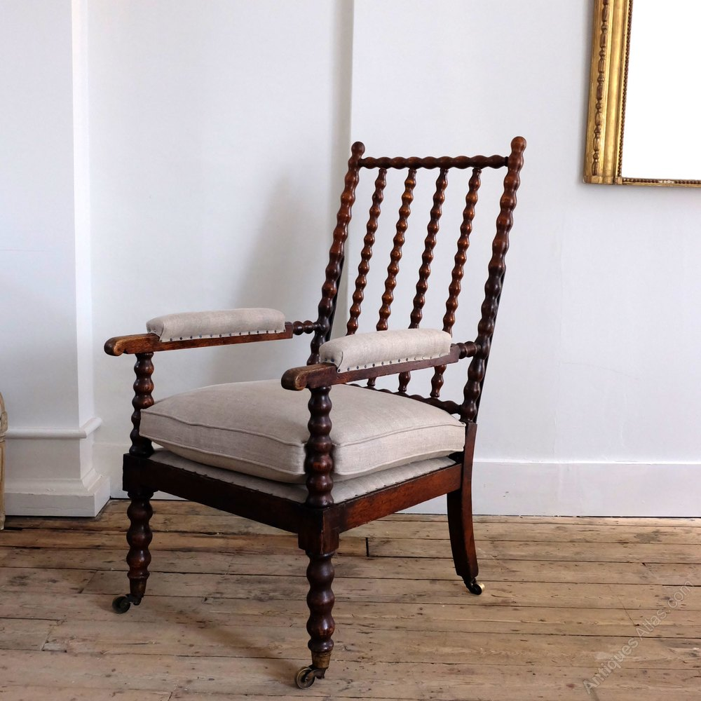 Antique Bobbin Chair Antiques Atlas