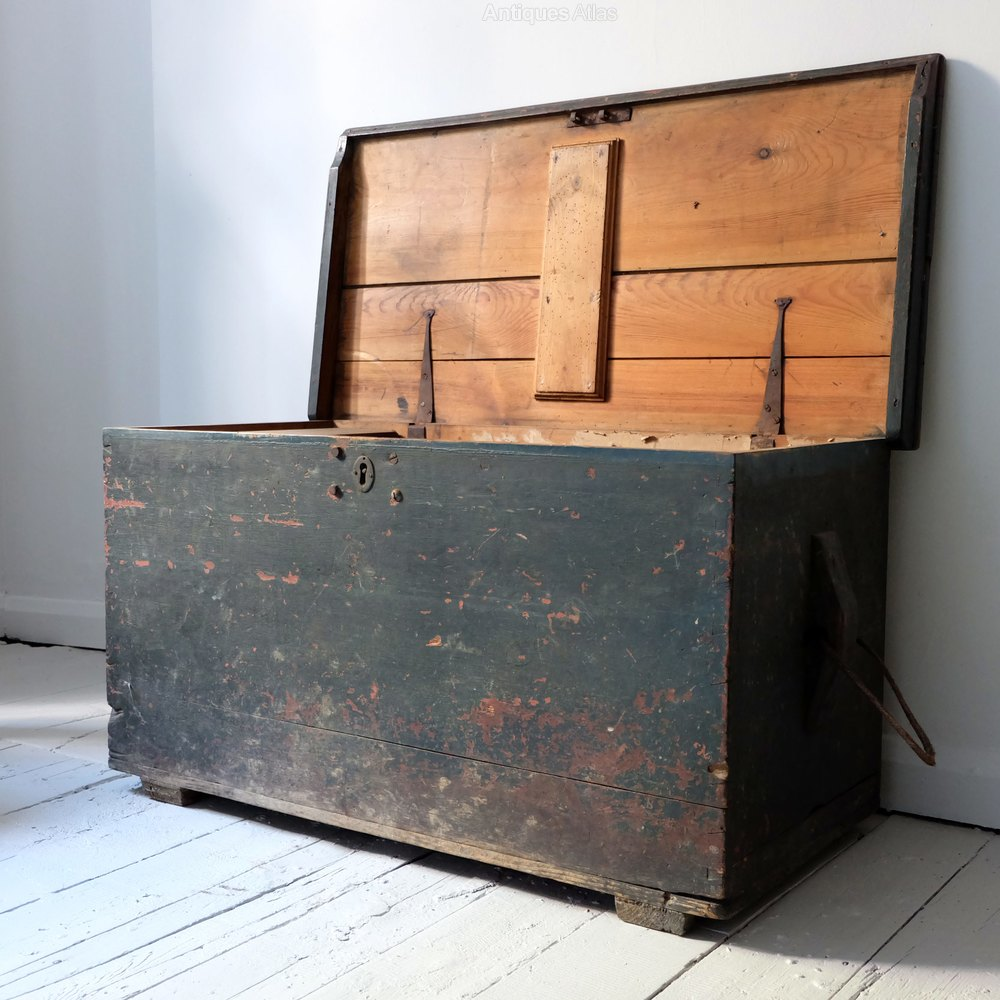 Antique Seaman's Trunk