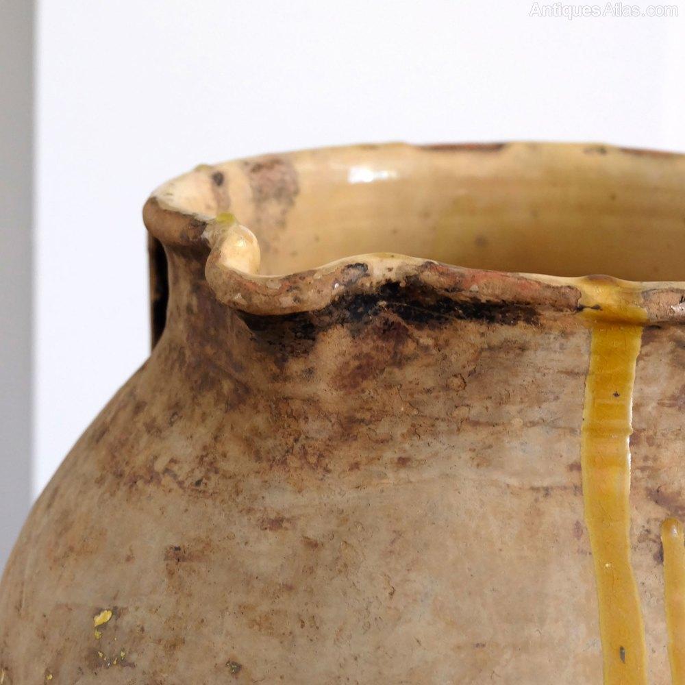 Antiques Atlas - French Antique Olive Pot