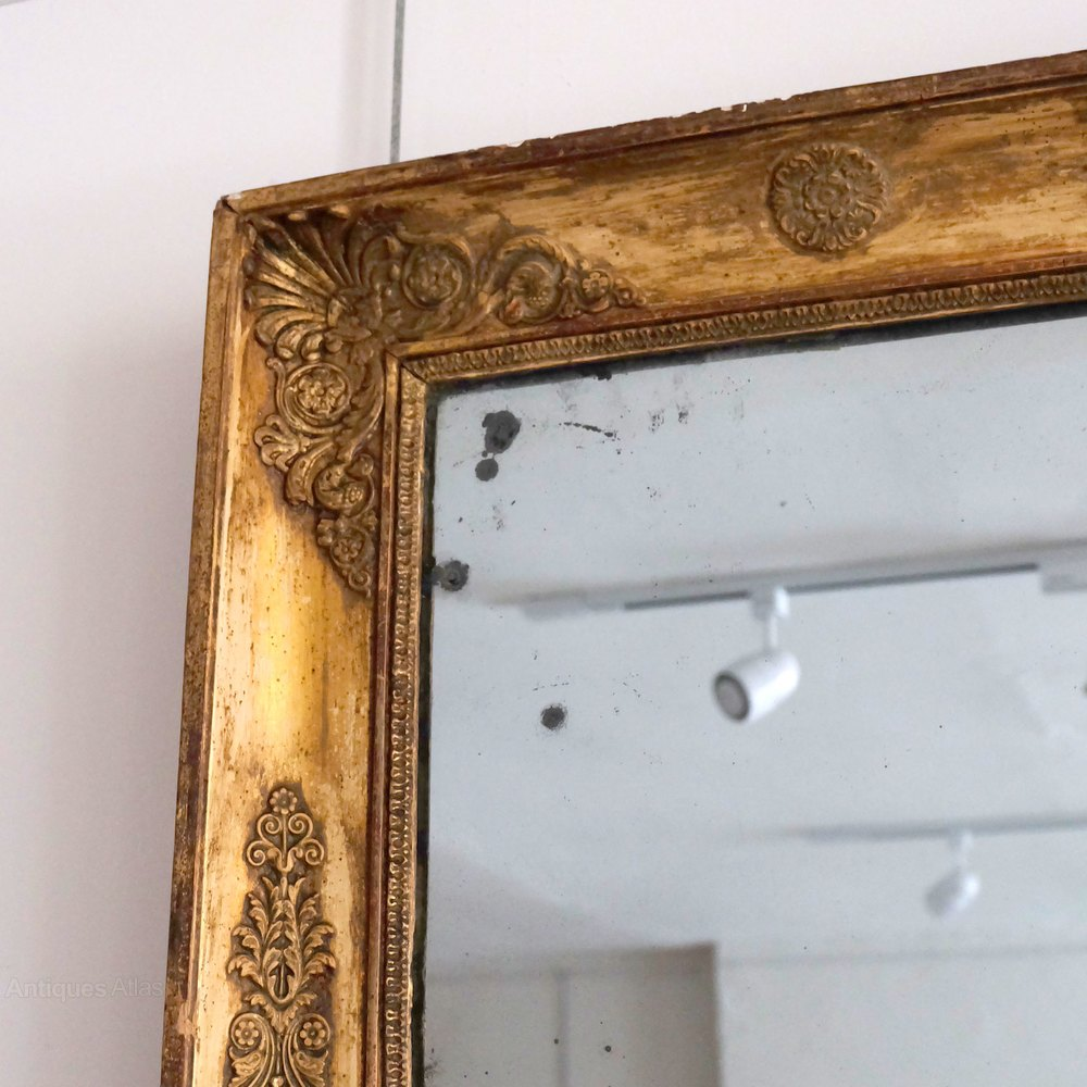 Antiques atlas large antique decorative mirror for Large fancy mirrors