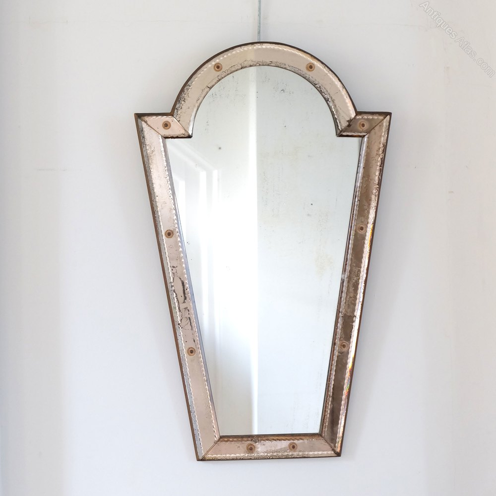 antiques atlas unusual venetian mirror
