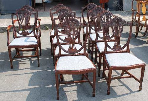 Antiques atlas mahogany prince of wales dining chairs
