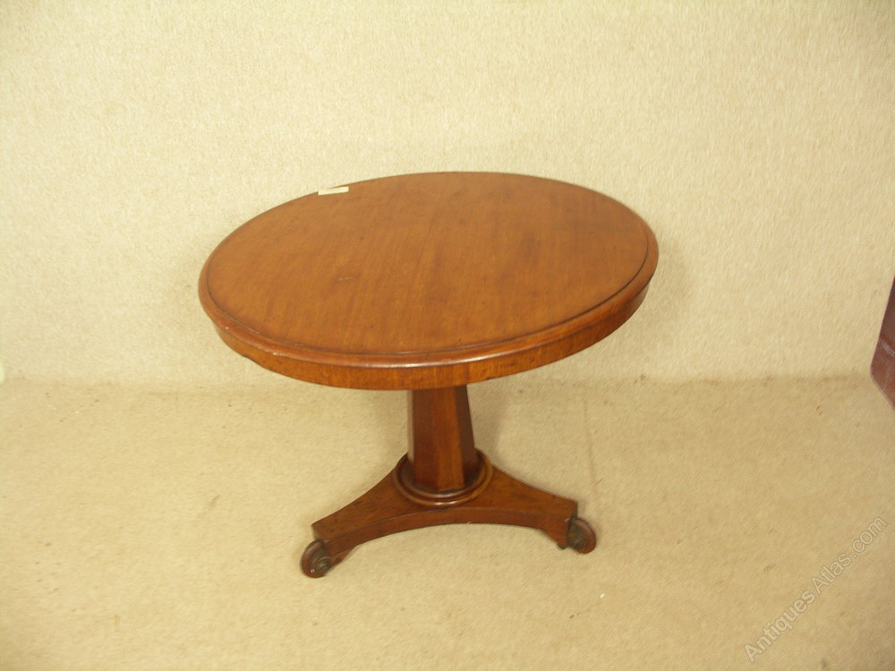 small and neat mahogany loo dining table antiques atlas