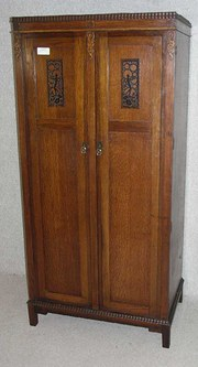 Antique armoires linen presses and wardrobes sold page 4 for 1930s front door furniture