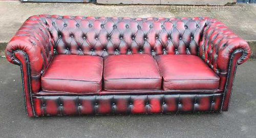 Remarkable Chesterfield Oxblood Sofa Home The Honoroak Cjindustries Chair Design For Home Cjindustriesco