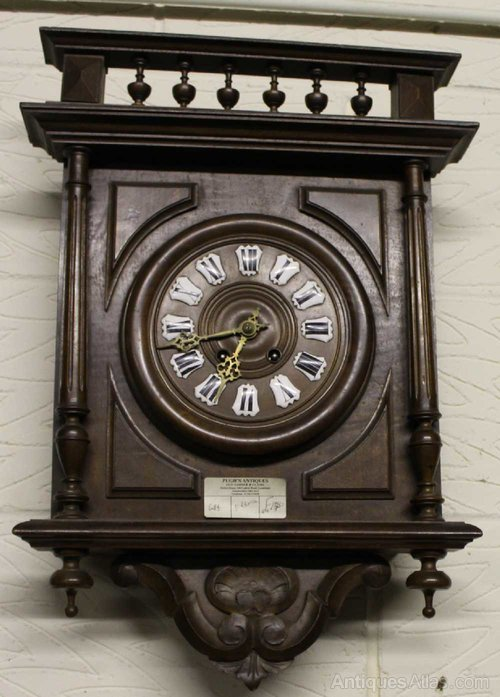 antiques atlas vintage french carved country wall clock