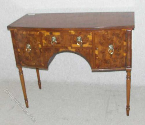 Antiques Atlas Yew Wood Bow Sideboard Server