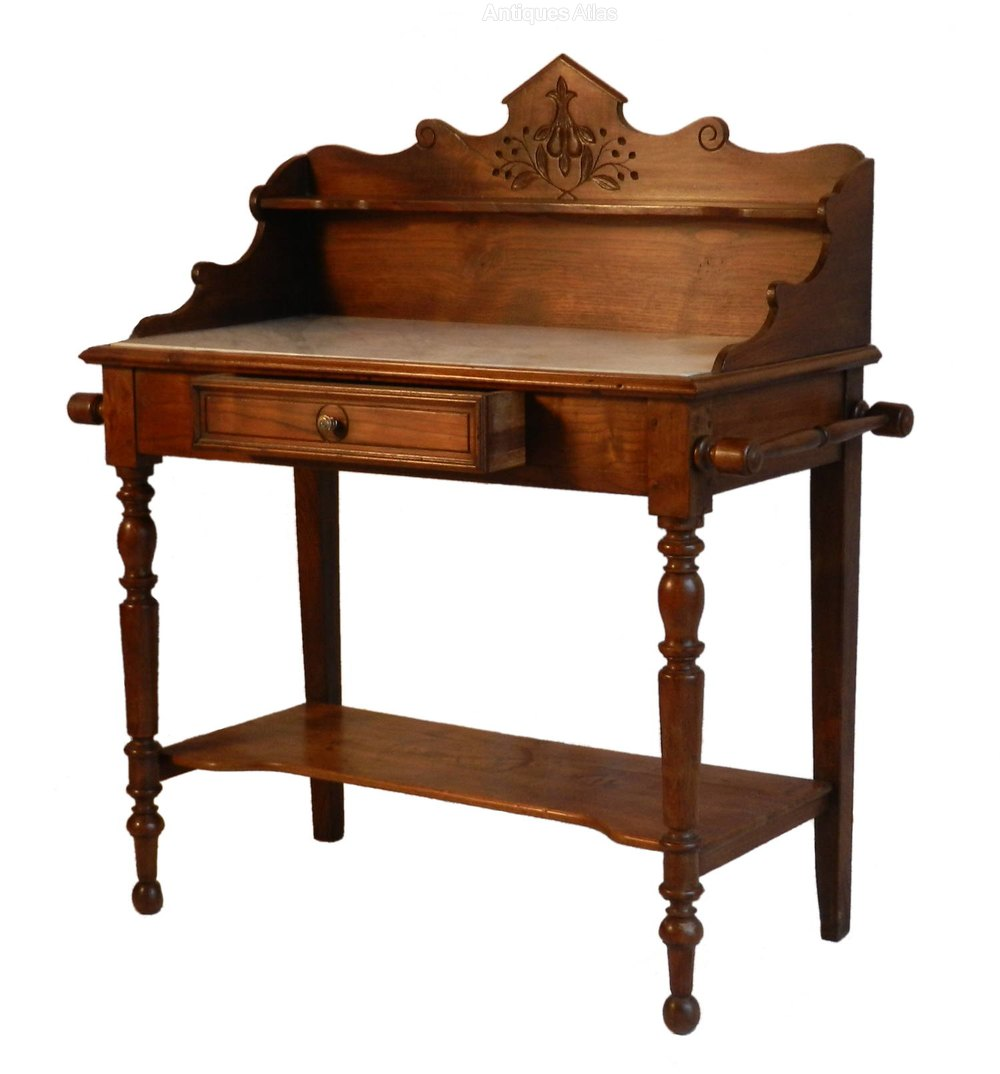 French Antique Washstand In Elm Antiques Atlas