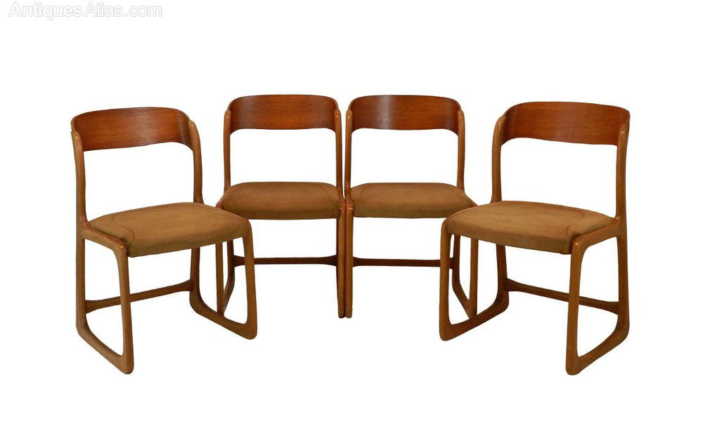 Antiques Atlas Stylish Set Of Four 1960 39 S Dining Chairs