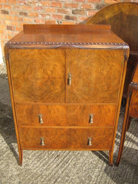 art deco walnut bedroom suite antiques atlas