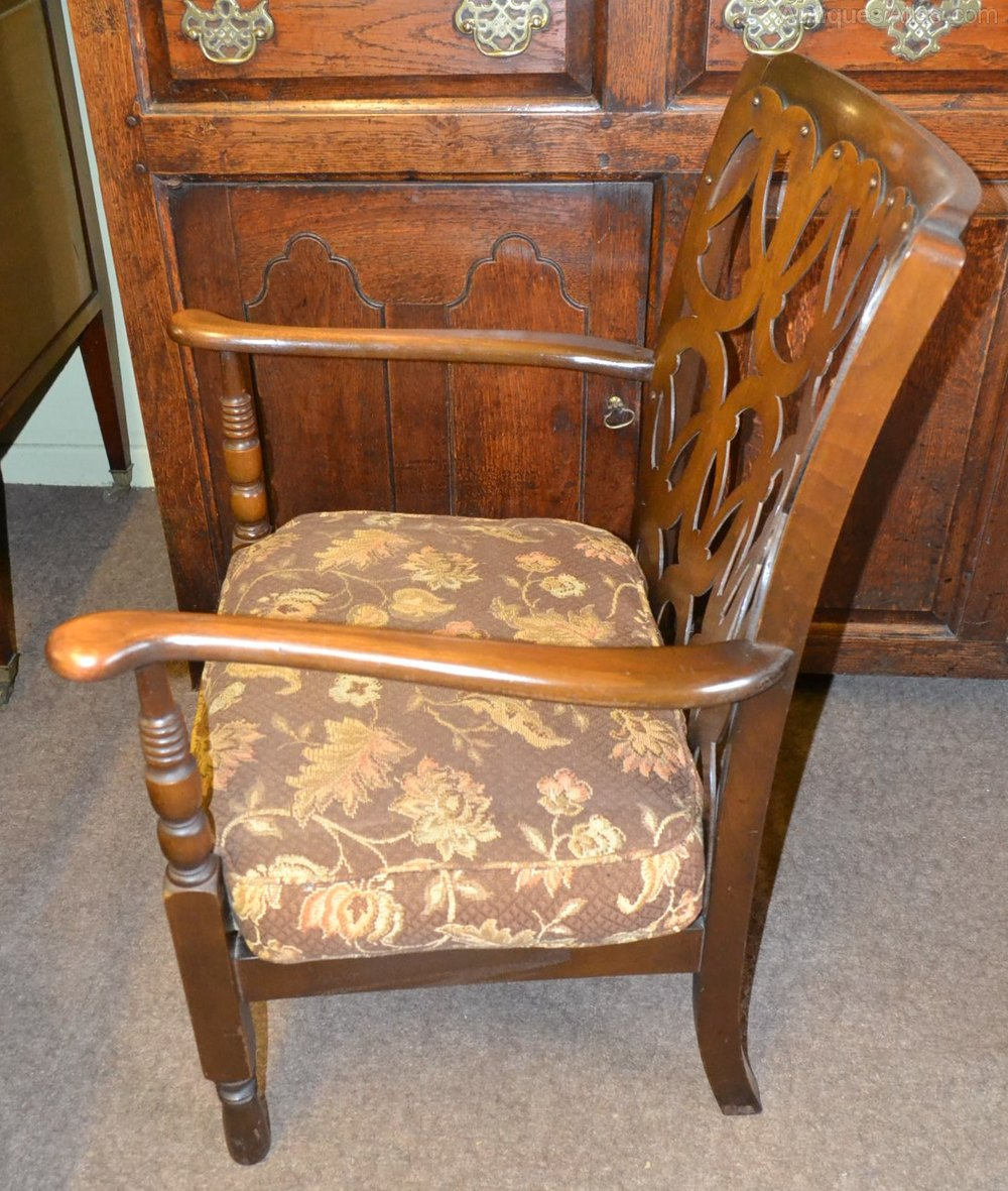 Pair Of Occasional Or Bedroom Chairs 1930