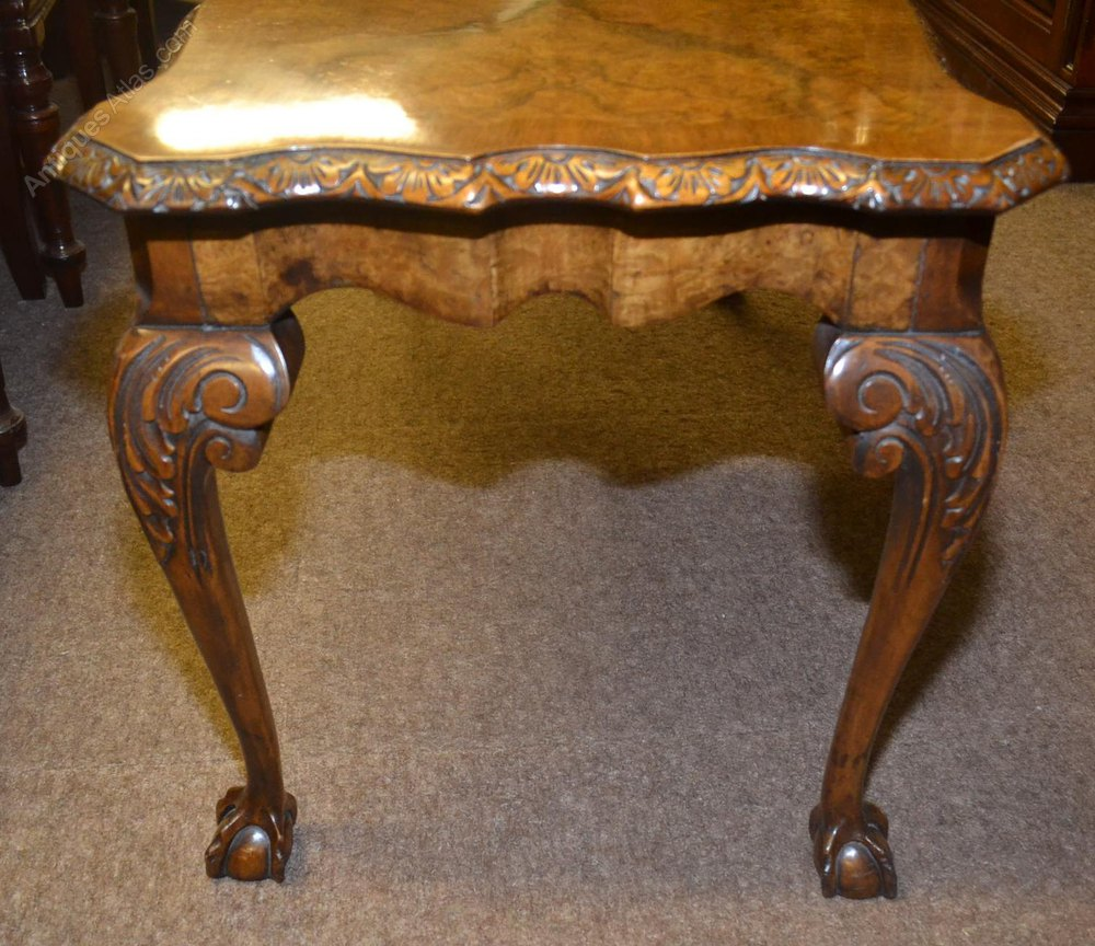 Walnut Coffee Table C1930 Antiques Atlas