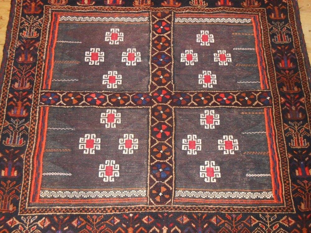 Antiques Atlas Antique Afghan Balouch Sofreh Rug Carpet