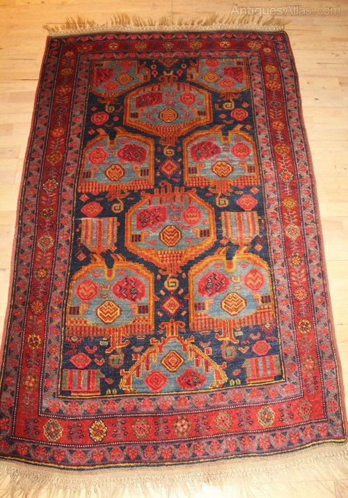 Antiques Atlas Antique Bidjar Rug Carpet