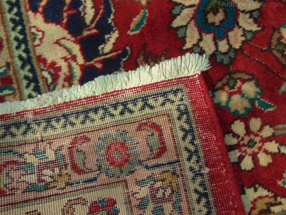 Antiques Atlas Antique Tabriz Carpet Shah Abbas Design