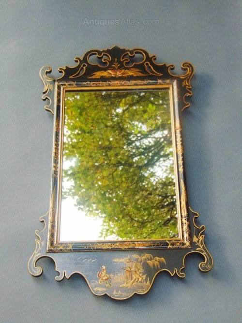 Antiques Atlas Chinese Chinoiserie Lacquer Framed Pier