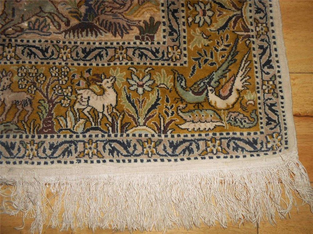 Antiques Atlas Kashmir North West India Rug Carpet Tree
