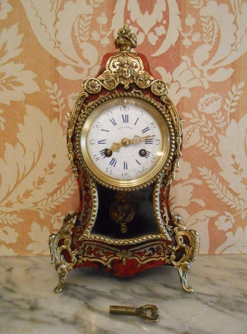 Antiques Atlas Late 19th Century Boulle Clock Ormolu Mounts