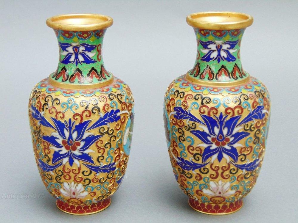 dating cloisonne vase