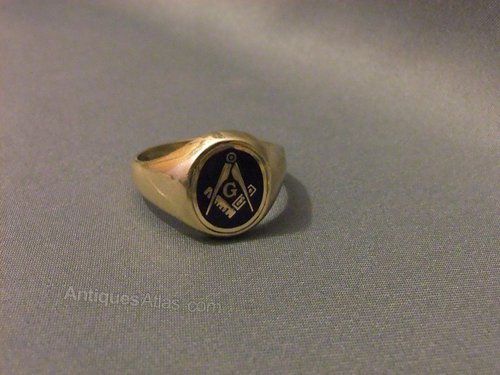 Pictures Of Old Masonic Rings